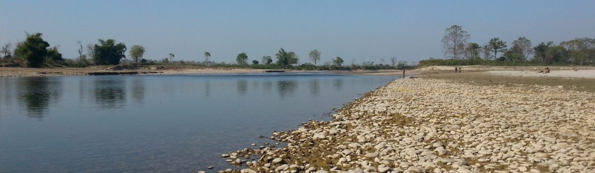 Geruwa river countryside Bardia National Park