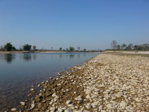 Geruwa river countryside Bardia National Park