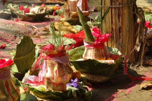 Hindu puja ritual bardia national park