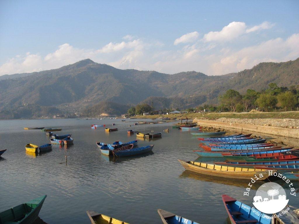 Pokhara Lake Nepal