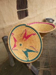 Tharu basket handicraft Bardia National Park