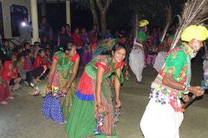 Tharu dancing Bardia Homestay, Nepal