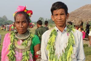 Tharu people Shivapur Bardia National Park