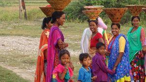 Tharu women Bardia National Park