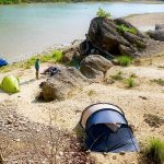 Camping Babai Valley Bardia National Park Nepal