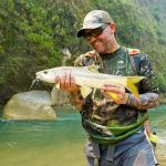 Mahseer fishing Bardia National Park Nepal