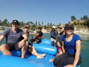 Rafting Karnali river West Nepal