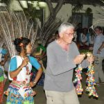 Tharu dance performance Bardia National Park