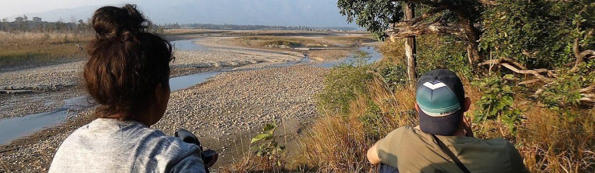 Wildlife spotting Bardia National Park west nepal