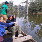 Birdspotting Satakhaluwa wetland forest Bardiya Nepal