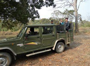 Jeep safari Bardia National Park