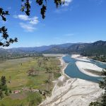 View on the Karnali river West Nepal